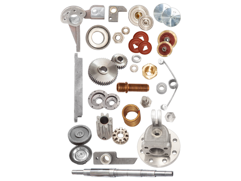 Parts machining for soot blower at home or abroad